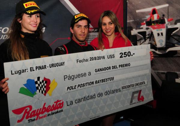 Premio Pole Position Raybestos para Casella