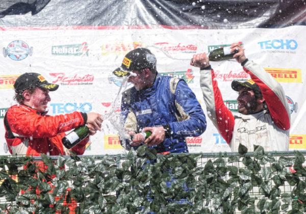 Las posiciones del Gran Premio Raybestos que compartieron Garese y Ferra