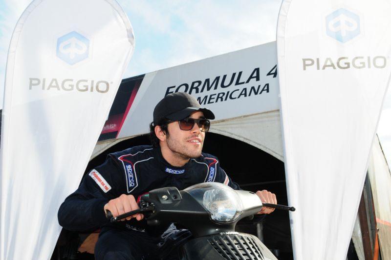 Pflucker se fue en una moto Piaggio a Perú